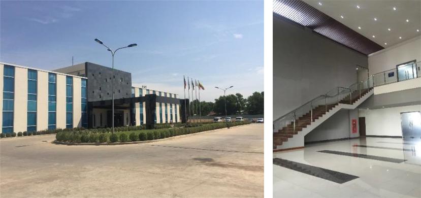 ティラワIP(Industrial Park)工業団地事務所棟(ミャンマー)