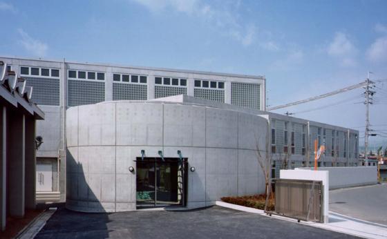 奈良県警察学校体育館