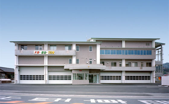 福山地区消防組合府中消防庁舎