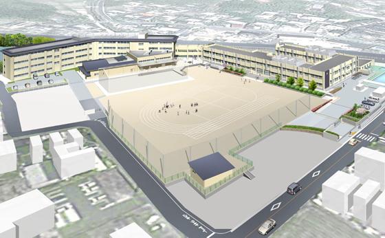 京田辺市立三山木小学校(計画案)