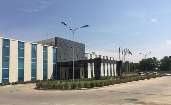 ティラワIP(industrial Park)工業団地事務所棟 (計画案)