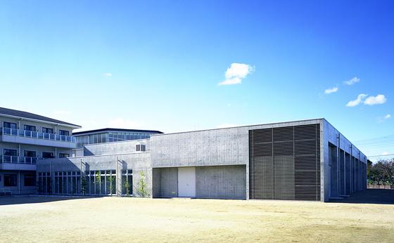 愛媛県警察学校射撃場