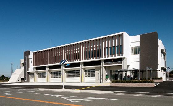 みやま市消防本部・消防署庁舎