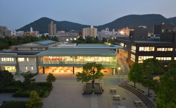 香川大学図書館・オリーブスクエア・大学会館 文部科学省「国立大学等の特色ある施設2014」選定