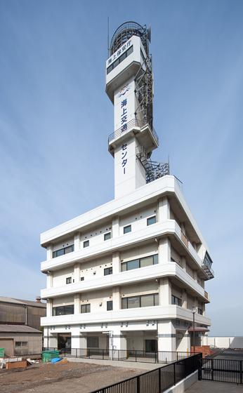 関門海峡海上交通センター局舎