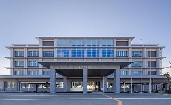宮若市新庁舎